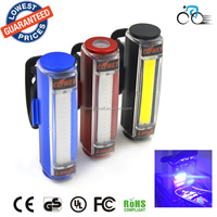 010 100lm Waterproof USB mountain bike bicycle cycling Bike Bicycle Lights Safety Rear Lamp White/red/blue bicycle rear light