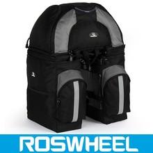 2015 fashion reliable quality new arrival 600D rear seat bike bag 14497 bicycle pannier bag