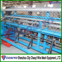 Fully Automatic Galvanized Wire/PVC Wire Chain Link Fence Making Machine