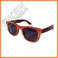 Vogue Brand your own sunglasses bamboo wood sunglasses 2015