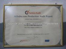 certificado de aluminio marcos