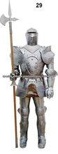 armadura medieval,6 pies vestido de armadura,vestido larp