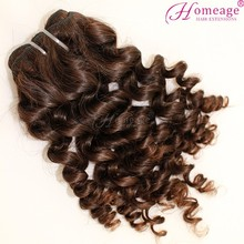 homeage deep curl malaysian hair weave 100% virgin real girl pussy hair