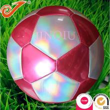 Popular cheap football with 32 panel,cool lazer ball football