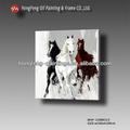 Caliente 2014 caballo popular en china pintura al óleo mhf-13080113