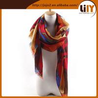 thinsulate scarf hat glove set mink fur scarf , orange scarf , vietnam scarf