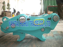 Excavator use hydraulic quick coupling, hydraulic quick hitch