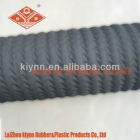 Industrial BS and W Corrugated Oil Field Suction / Vacuum Hose
