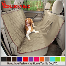 Dog Seat Cover with the Best Nonslip polyester or non-wovern Backing and Seat Fixing tubes for Cars Trucks and SUVs