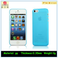 Ultra-thin Polypropylene Cheap phone case for iPhone5/5s