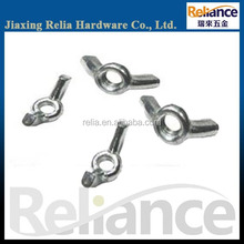 A variety of M2-M32 Stainless steel, Carbon Steel Fasteners, Butterfly wing nut