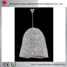 especial diseño artístico de la lámpara colgante