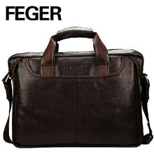 Genuine Leather Pattens Wholesale Quality Men Business Handbags