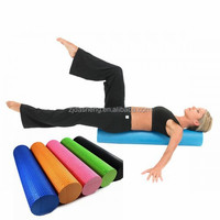 Factory selling yoga roller/foam roller to make girl keep shape