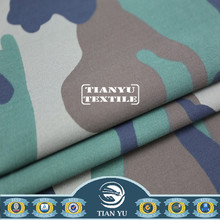 Cotton Camouflage Fabric Flexible Uniform Fabric with Spandex Processing