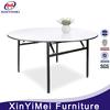 Plywood PVC edge banquet folding round China design table