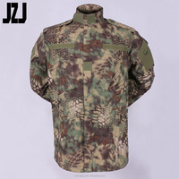 Army Military Uniform Camouflague Waterproof Combat Shirt And Pants T/C 65/35 Ripstop/Twill 180-320G Factory