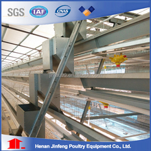Layer broiler pullet chicken cage with automatic raising equipment