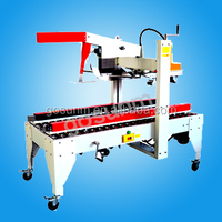 carton opening sealing and strapping machine