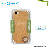 Innovative modern pc bamboo mobile phone case for iphone 5s