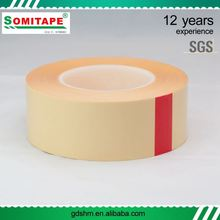 Strong Adhesive Extreme Temperature Resistant Pet Double Sided Tape With Printed Release Paper
