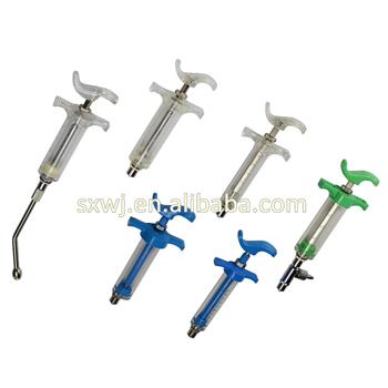 Plastic Colored Syringe Drenching Gun