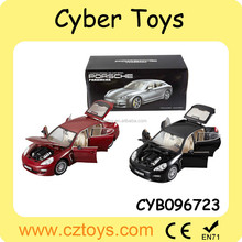 2015 best selling 1:18 scale authorization metal car toy die cast car with open the door