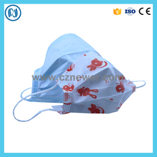 Custom printing disposable dustproof face mask for kids