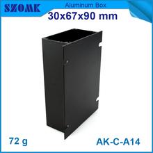 aluminum extrusion box electrical enclosure 30x67x90mm