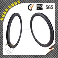 SoarRocs high TG resin 23mm width U shape 25mm carbon wheels clincher 50mm