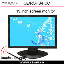15 inch 17 inch 19 inch 22 inch TFT LCD touch screen monitor low cost with POS base HDMI VGA AV 03