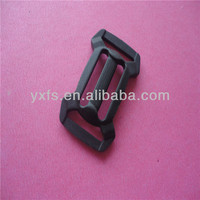 New Style Plastic Curved Double Adjustable Buckle For Backpack