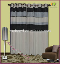 Mocha Manhattan Lined Eyelet Curtains joint design hot sale in the world