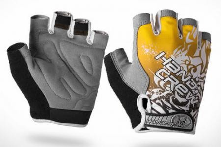 прохладный Открытый Велоспорт велосипед велосипедов спортивных дышащий мужчин & женщин половина finger перчатка ag2101-y-l