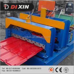 Dixin Glazed zinc making machinery glazed roof tile machine