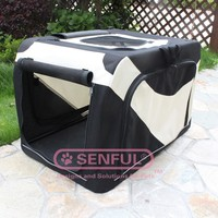 fabric pet carrier bag Traveling Pet Soft Crate
