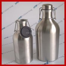 plastic 6 pack beer bottle holder for flip top growler