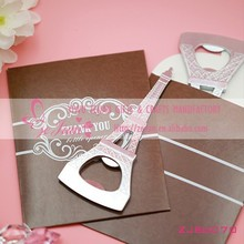 "New ""La Tour Eiffel"" Eiffel Tower Metal Wine Openers In New Gift Boxes Wedding Favors"