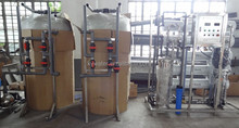 China manufacturer 5000LPH two stage of ro packaged water treatment plant for sale