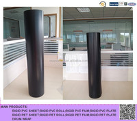 0.22mm thin rigid black plastic pvc sheet for cooling tower fill