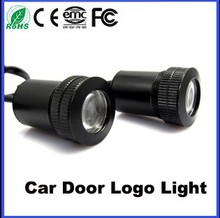 Customized car logo projector led light Customizing auto ghost shadow light 12V 5W With Driller