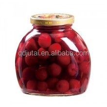 New crop canned pitted cherries