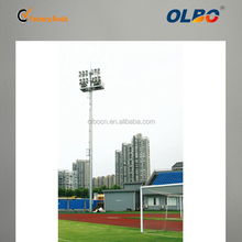 2015 new arrival 25m football stadium outdoor high mast lighting tower for private sports academy and cricket ground
