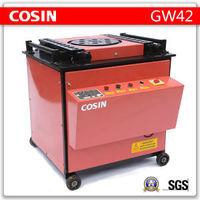 COSIN flat bar angle bending machine,bar bending machine manufacturers, stirrup bar bending machine