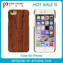 Grano de madera de lujo madera genuino nuevo caso