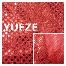 3mm wholesale sequin embroidery fabric for decoration