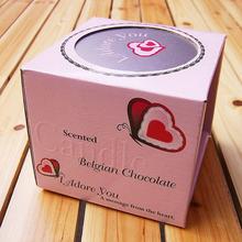 creative wax paper packaging box