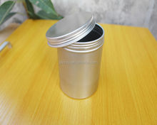 SGS food grade 10oz 250ml cylindrical aluminum can,screw top tin cans for food packaging