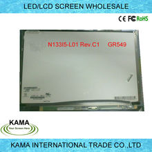 13.3 inch WXGA 1280*800 RGB P/N GR549 N133I5-L01 REV.C1 Moudel Panel screen for DELL
