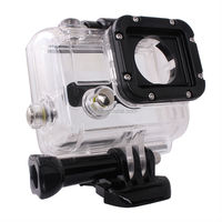 Skeleton Protective Housing Case Without Lens work with HERO 3 Open Side Sport Camera